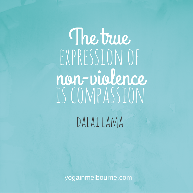 Compassion from the Dalai Lama - mm…Yoga!