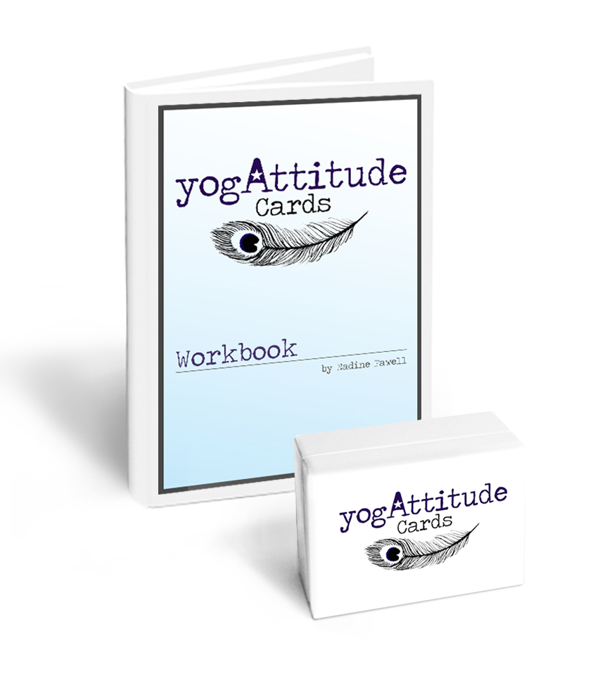 yogAttitude cards ( front  and  back ) and the  yogAttitude Workbook .