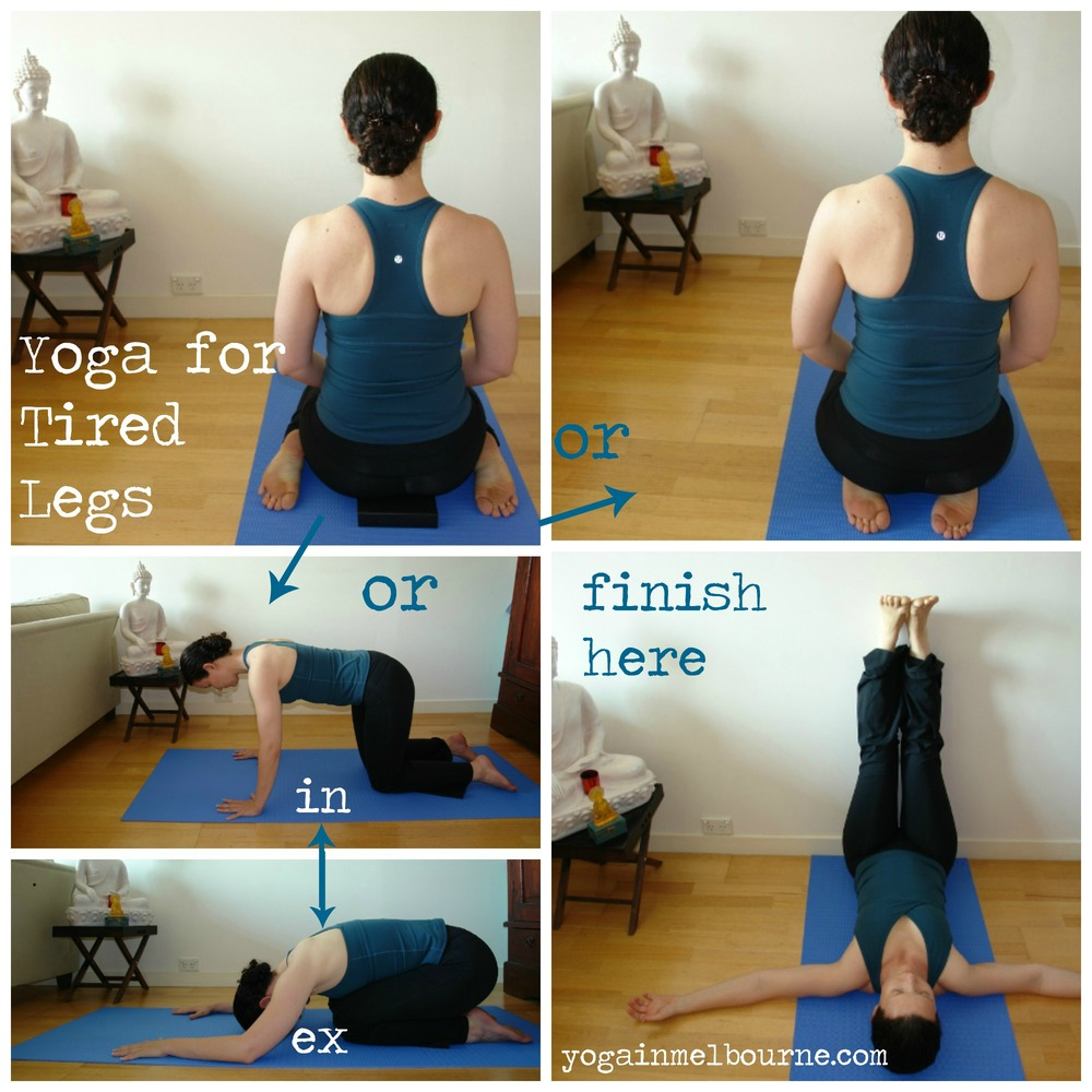 Yoga For Tired Legs