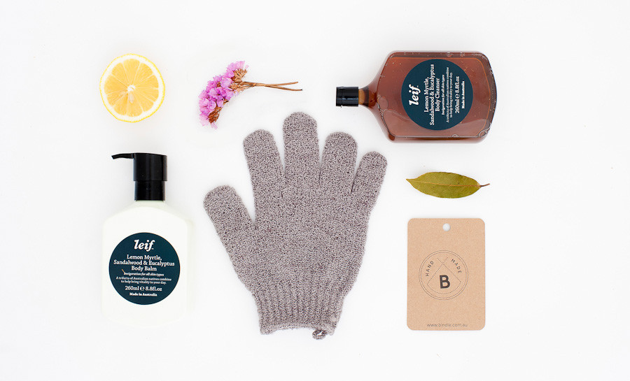 This gorgeous gift pack from Bindle has everything you need for a spa-like, detoxing bath time.