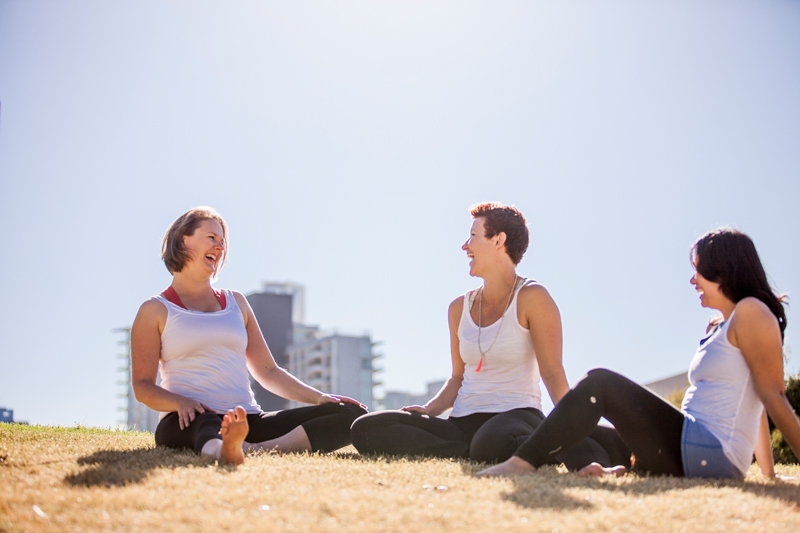 Busy and blah?   Lighten Up Lunchtime    Book a yoga class