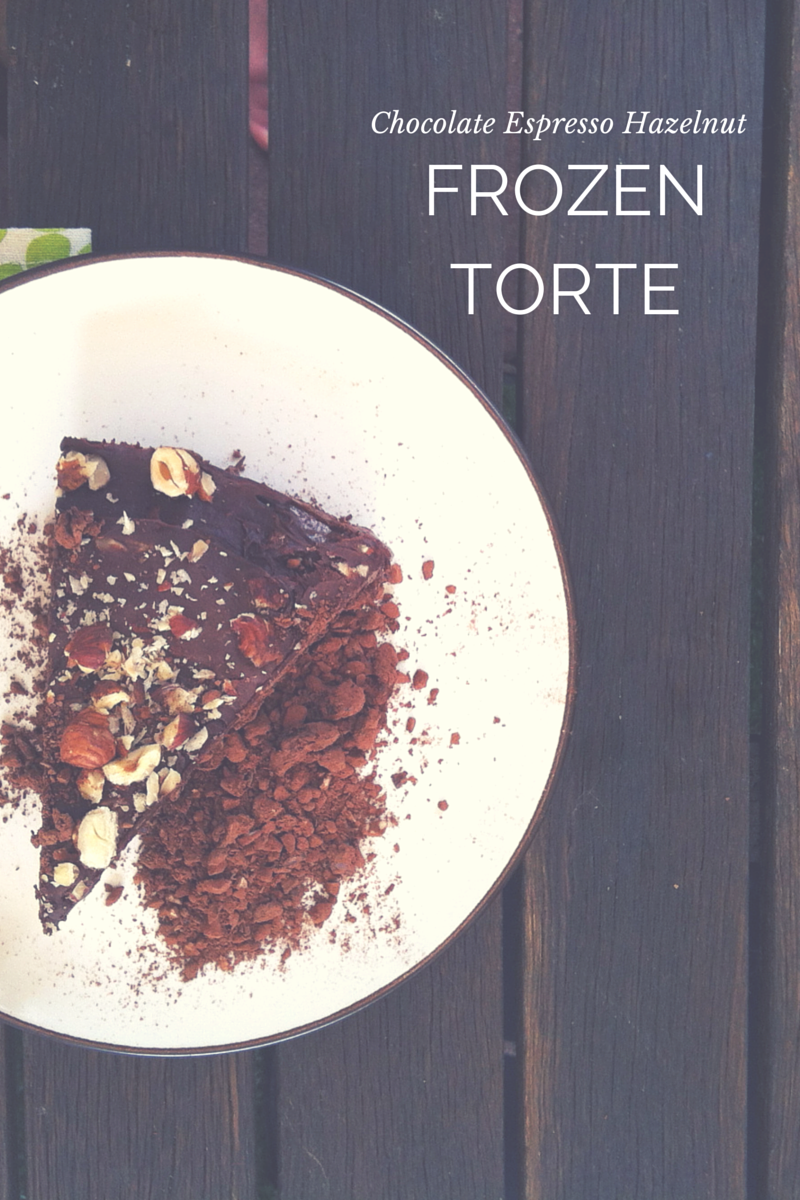 raw vegan chocolate torte