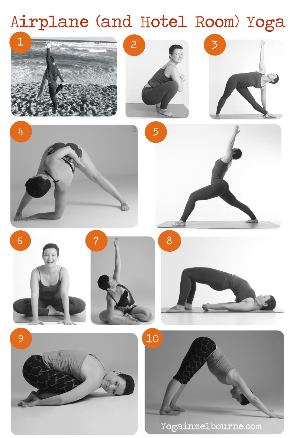 Get a free download of this airport yoga sequence at mm…yoga!