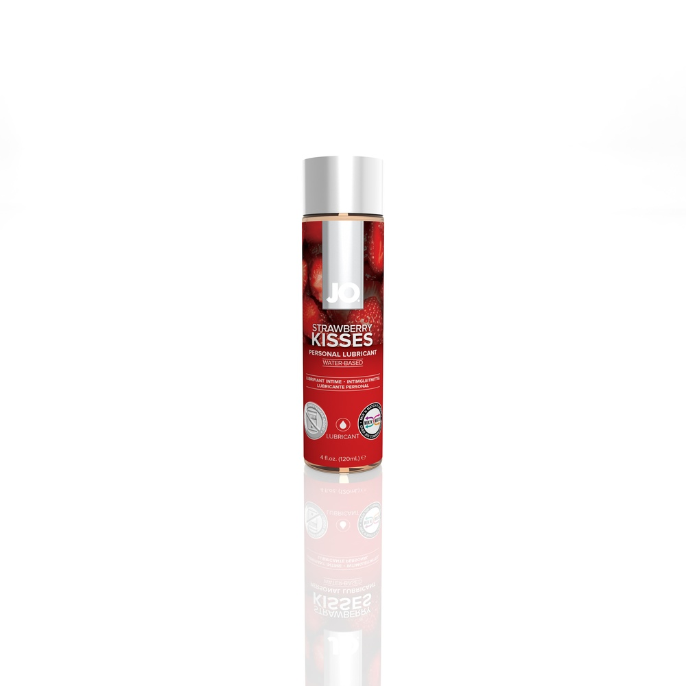 40118 - JO H2O FLAVORED LUBRICANT - STRAWBERRY KISSES - 4fl.oz 120mL.jpg