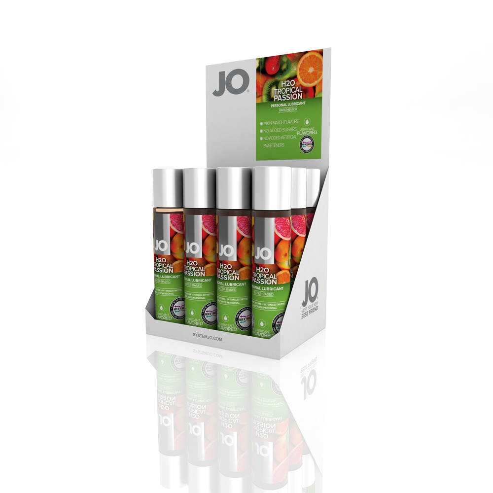 10121 - JO H2O FLAVORED LUBRICANT - TROPICAL PASSION - 1fl.oz 30mL (MOQ 12 units - Includes Counter Display).jpg