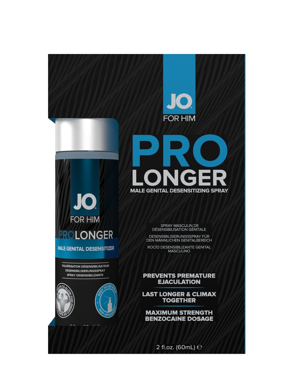 JO Prolonger Spray Lidocaine