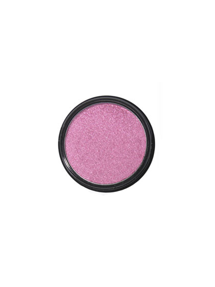 Petal pink lids are soft, ethereal, and—with just mascara—surprisingly cool.