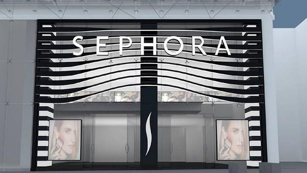 What the facade of Sephora Australia will look like.   Photo: Facebook