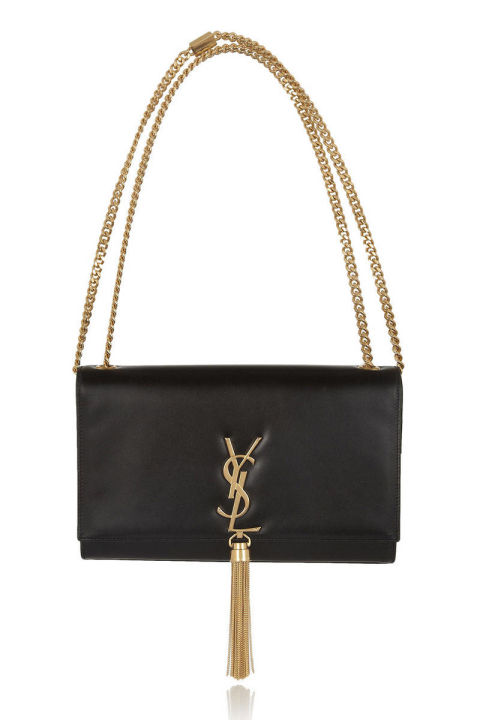 Saint Laurent bag, $1,890, net-a-porter.com. COURTESY NET-A-PORTER