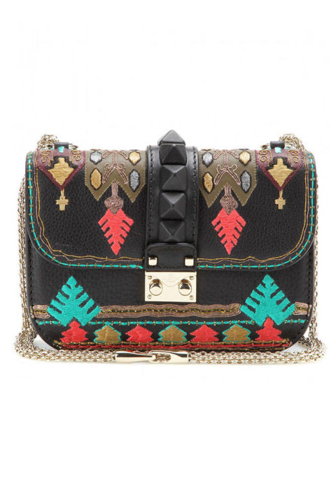 Valentino clutch, $3,095,mytheresa.com.   COURTESY MY THERESA