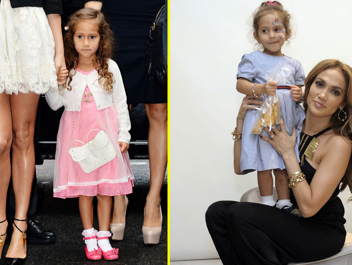 EMME ANTHONY Emme Anthony actually wore $2,400 worth of Chanel to a fashion show in 2012 at just 4 years old. Insane, yes, but when you grow up with parents like Jennifer Lopez and Marc Anthony, you pretty much get what you want. This gorgeous little girl often wears her curly locks down with a cute dress or skirt.