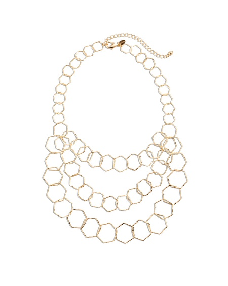 Tracy Hexagon Necklace $17.5