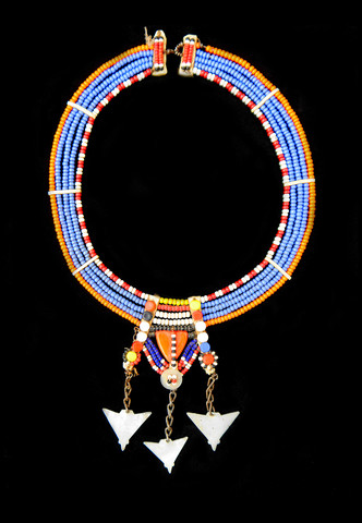 Arrowhead maasai necklace $ 85