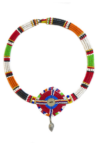Kenyan Maasai choker  $ 85