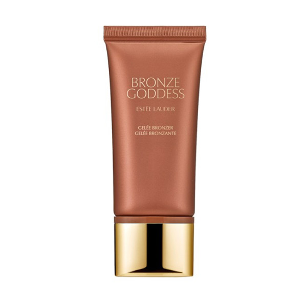 Add some shimmer with this gel and be a bronze goddess, literally.  Bronze Goddess Shimmering Nudes Gelee Bronzer,  Estee Lauder   $30