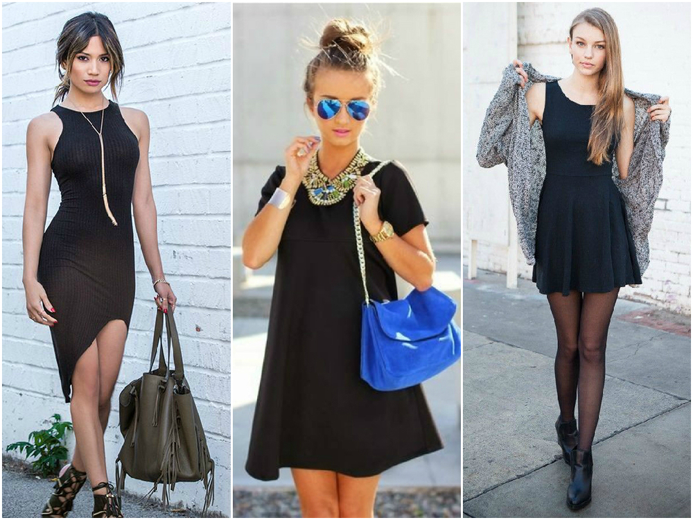 Everybody knows that a little black dress is a must-have in a girl's wardrobe. There are many types you can rock, from casual to sophisticated. Find a little black dress that perfectly flatters your body shape and hides some imperfections if needed.
