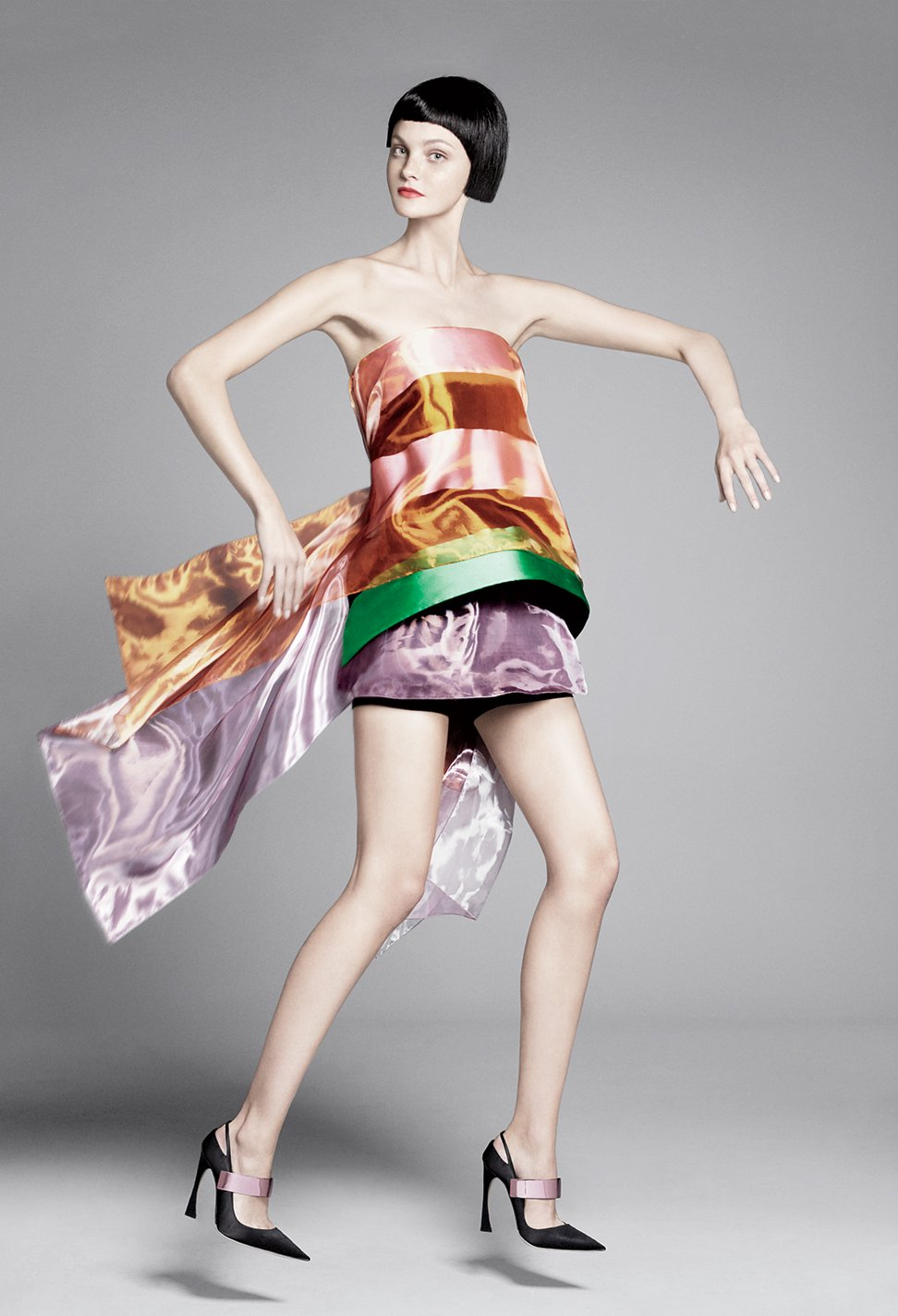 Caroline Trentini in Christian Dior