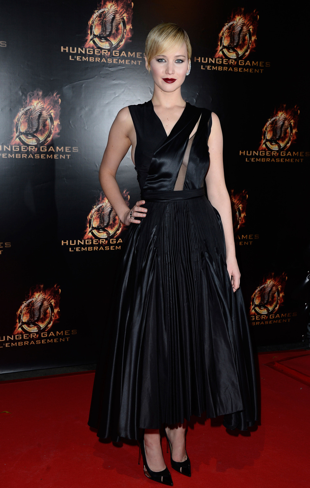 The Hunger Games: Catching Fire Paris premiere, November 2013.   Photo:Pascal Le Segretain/Getty Images
