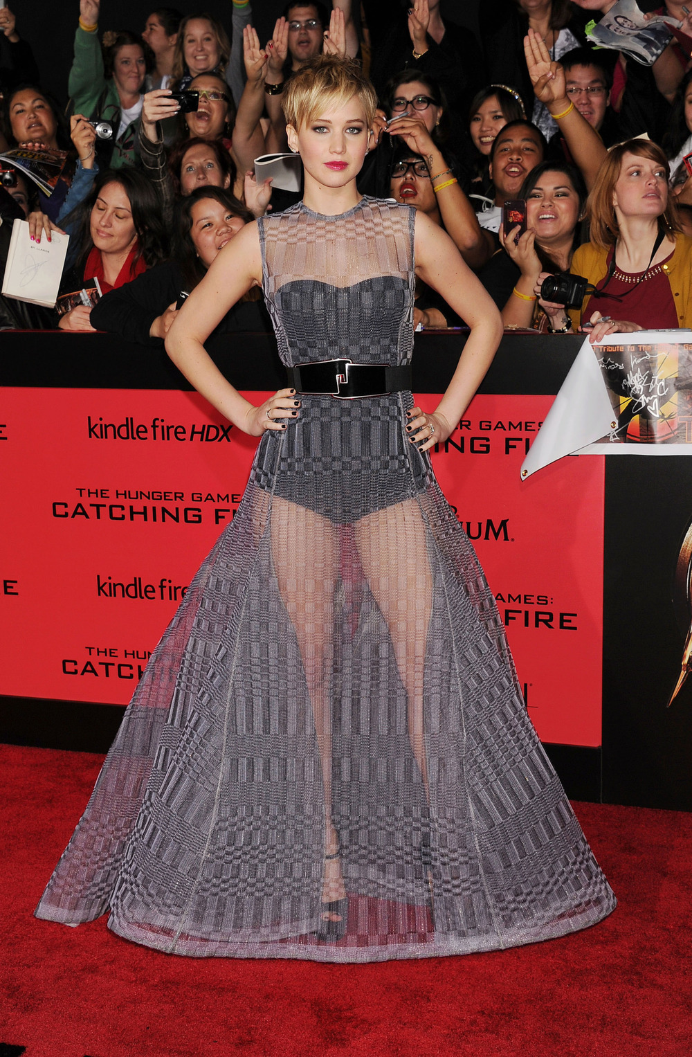 The Hunger Games: Catching Fire Los Angeles premiere, November 2013.  Photo:Jeffrey Mayer/Getty Images