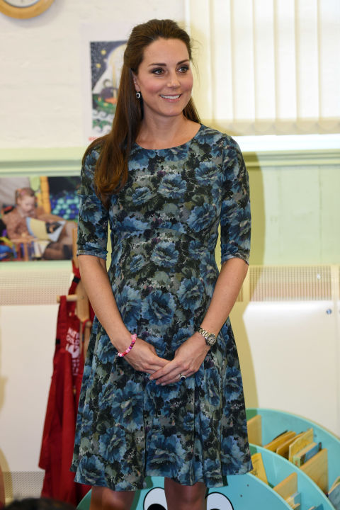 What: Seraphine dress  When: February 18  Where: Visiting the Cape Hill Children's Center in Smethwick, England