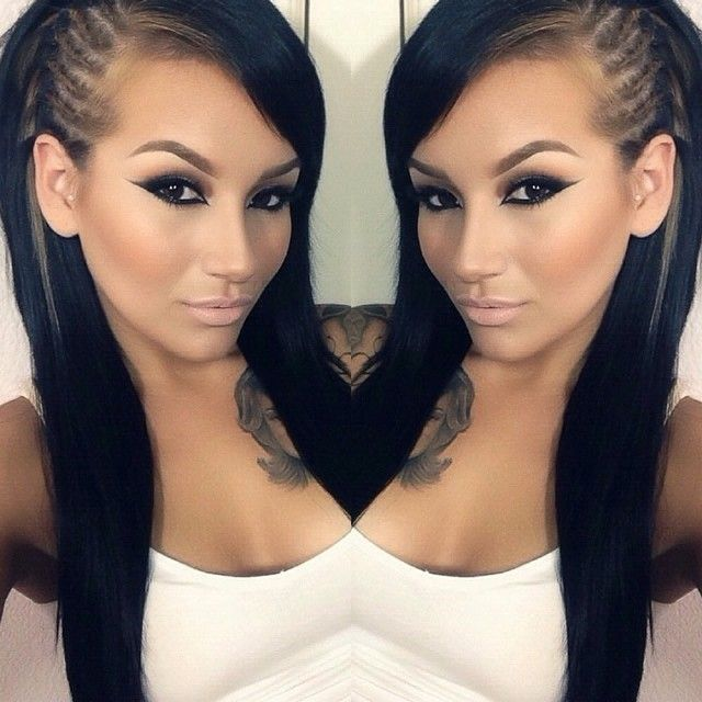 Hairstyles For The Week Cornrows With Weave Neonfix Nyc