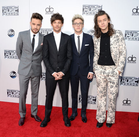 ONE DIRECTION GETTY