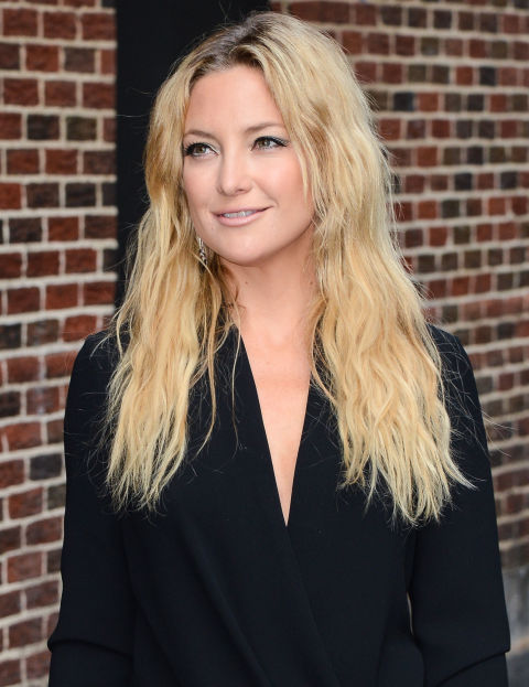 Classic Beachy Waves Kate Hudson GETTY IMAGES