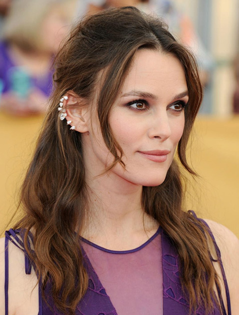Yep, it's the same Repossi ear cuff that Keira Knightley wore to this year's SAG Awards.