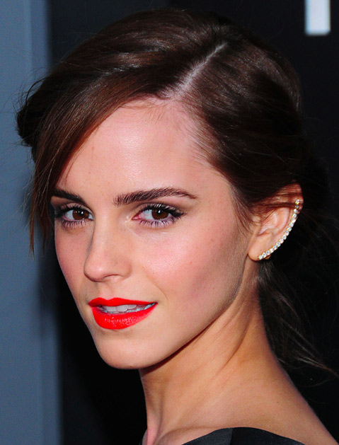 Emma Watson went for thin and delicate.