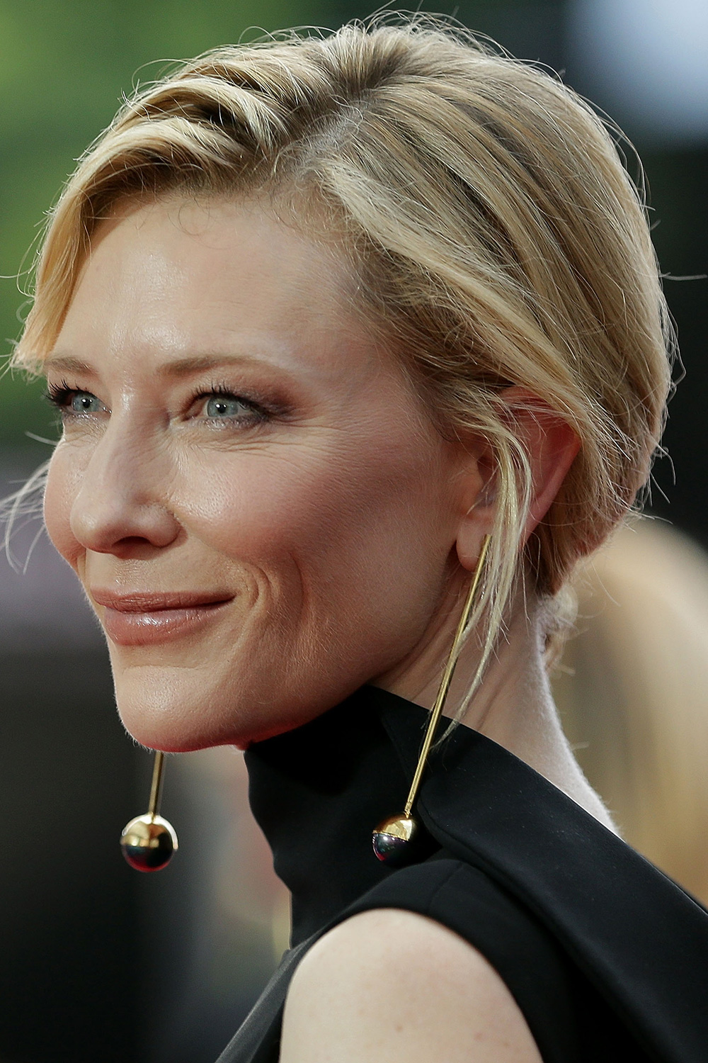 December: Cate Blanchett As always, Cate Blanchett epitomised red-carpet elegance at the AACTA Awards. Her textured, side-parted updo was beautifully paired with her sophisticated eye make-up. Getty Images