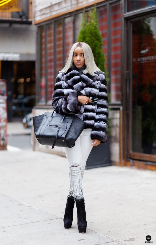 Her ensembles bubbled over with designer duds, from DSquared2 sandals to Céline bags, and fuzzy Chanel purses.