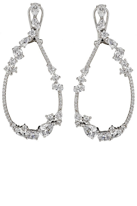 Fallon  earrings, $340,  fallonjewelry.com .  FALLON JEWELRY