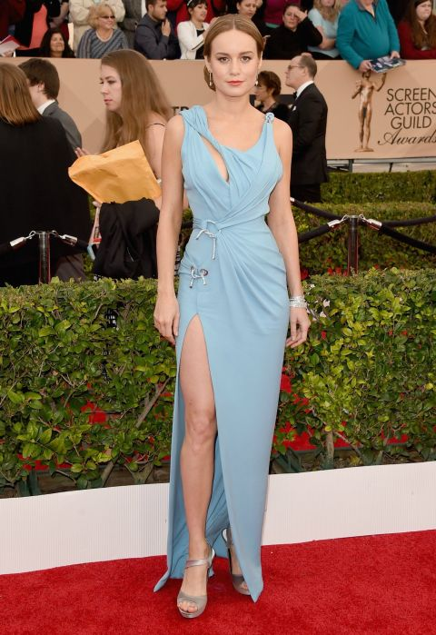 Brie Larson in Versace
