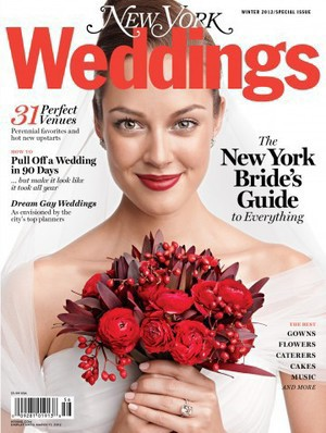 AS SEEN IN NY WEDDINGS MAGAZINE