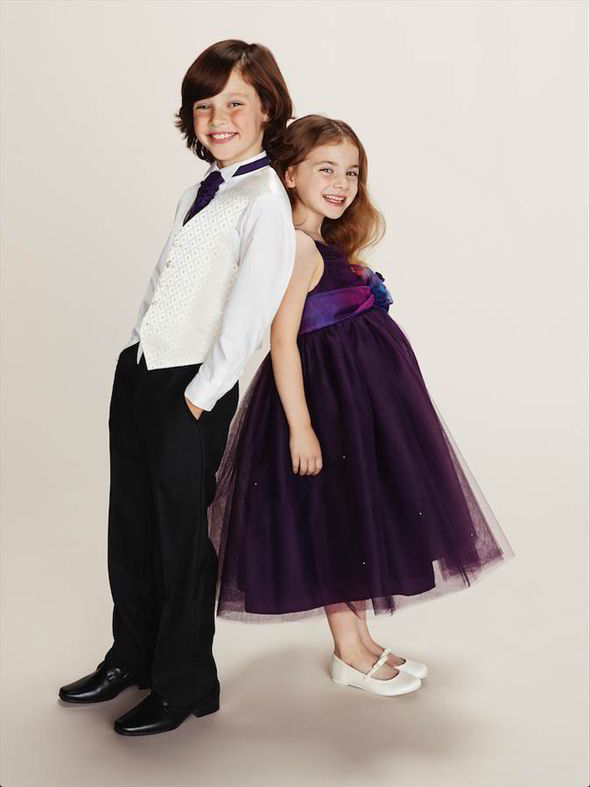 The page boy and flower girl will steal the show [BHS]