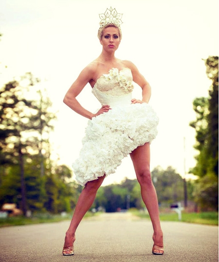 10th Annual Cheap Chic Weddings Toilet Paper Wedding Dress Contest
