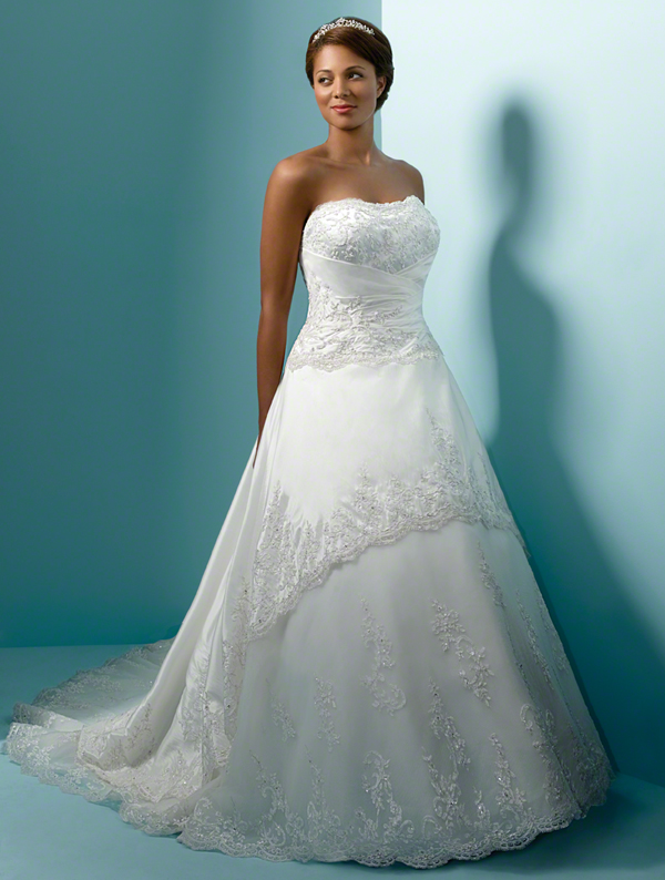 5d98e567022 Plus Size Wedding Dress Spotlight — Bridal Hair And Makeup NYC ...