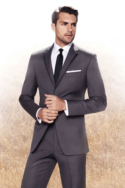Both tuxedos retail at $799.99 and come in slim, regular, and big and tall sizes. All tuxedos are available for rental or purchase at Men's Wearhouse across the US and at menswearhouse.com .