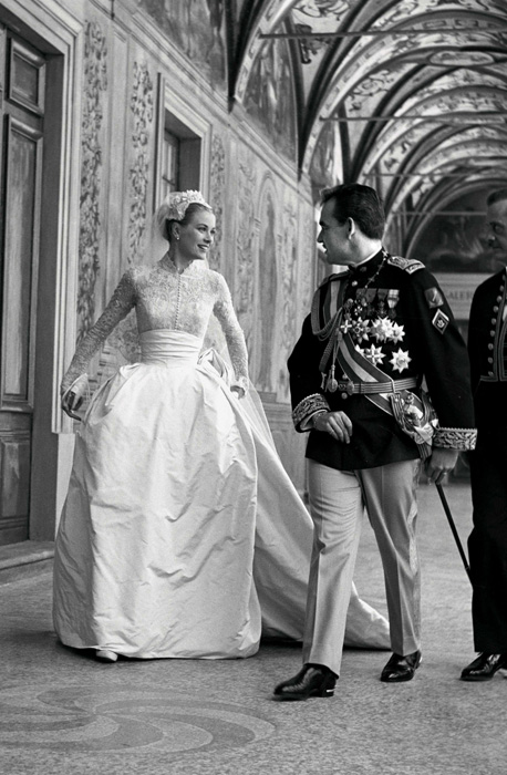 Grace Kelley & Prince Rainier III of Monaco in  April 1956 , nearly 60 years ago   Photo: © Getty Images