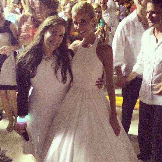 Mary Katrantzou with Carolina Gonzalez-Bunster. Photo: Mary Katrantzou/Instagram'     Source