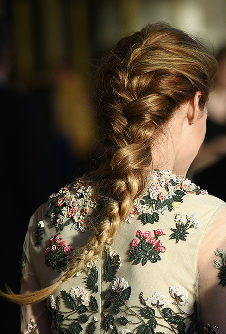 Olivia Palermo's Long French Braid  There's a reason French braids were all the rage back in the day, and Olivia's long one gives this tried-and-true classic a romantic edge.