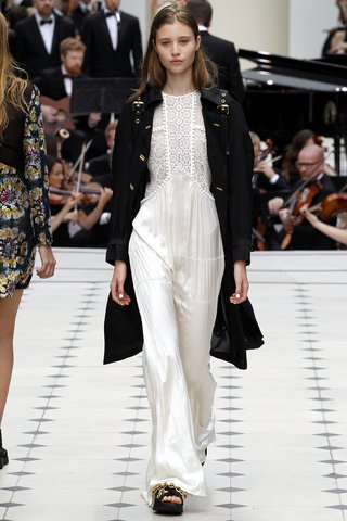 Burberry Prorsum   The Brit rocker girl grows up but retains a bit of her edge.  Photo: Indigitalimages.com