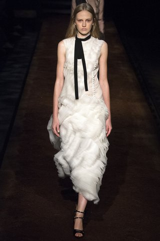 Erdem   A cloudlike confection from the It Brit label is dreamy, while the button trim is poetry.  Photo: Indigitalimages.com
