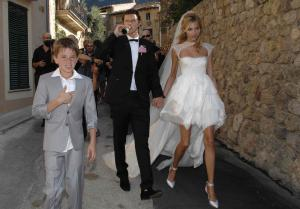 Anja Rubik Wedding Dress.   Anja Rubik