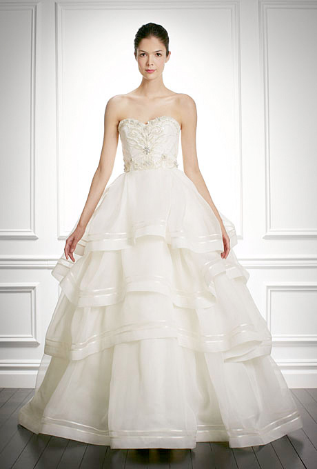 Carolina Herrera   Gown by  Carolina Herrera     Browse more Carolina Herrera wedding dresses.   Photo: Courtesy of Carolina Herrera
