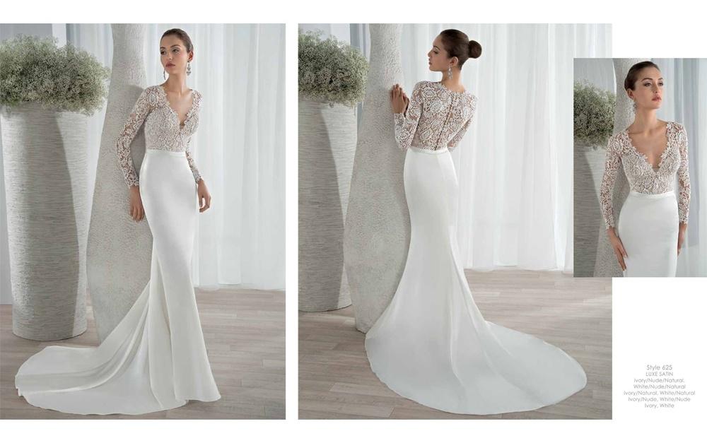 Sleek Wedding Dresses With Sleeves | Wedding Ideas