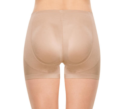 PHOTO BY COURTESY OF NORDSTROM   The essential: Find a pair of special shorts that can give your behind an extra boost. Look for shorts with padding that looks and feels natural (your guests don't need to know you're getting some booty help) like cotton, foam or silicone.  Slimplicity Butt Boosting girl shorts, $45, Spanx.com