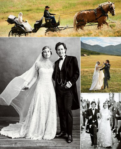Fashionable. What else could you expect from the son of Ralph Lauren on his wedding to Lauren Bush back in 2011. Very elegant, and very timeless too. Another wedding inspiration that only deserves to be talked about a lot.