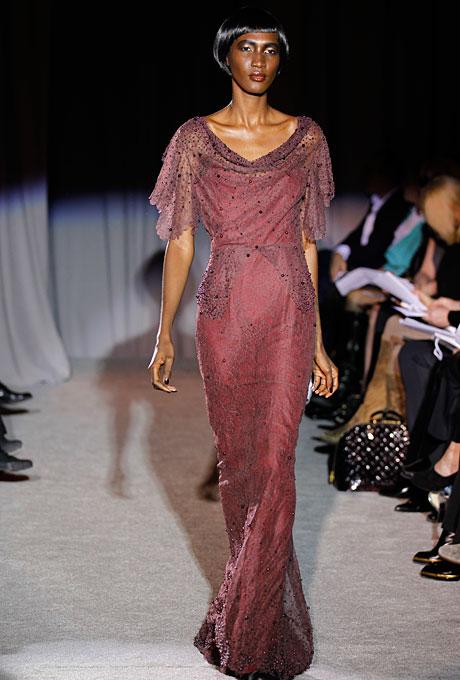 Gown by  Douglas Hannant   Photo: Conde Nast Digital Studio