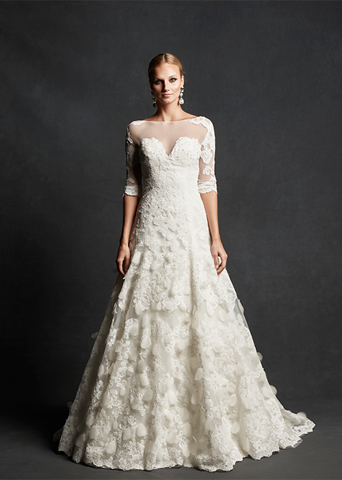 The Lillian floral lace bodice, $6,795, Photo: Isabelle Armstrong